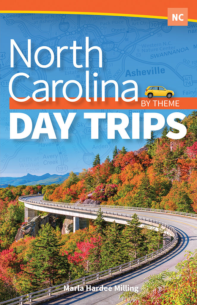North Carolina Day Trips by Theme front cover