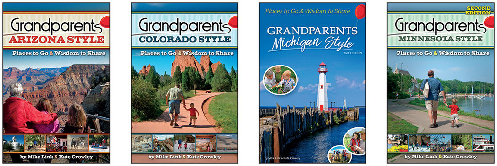 Books in the Grandparents with Style series from Adventure Keen
