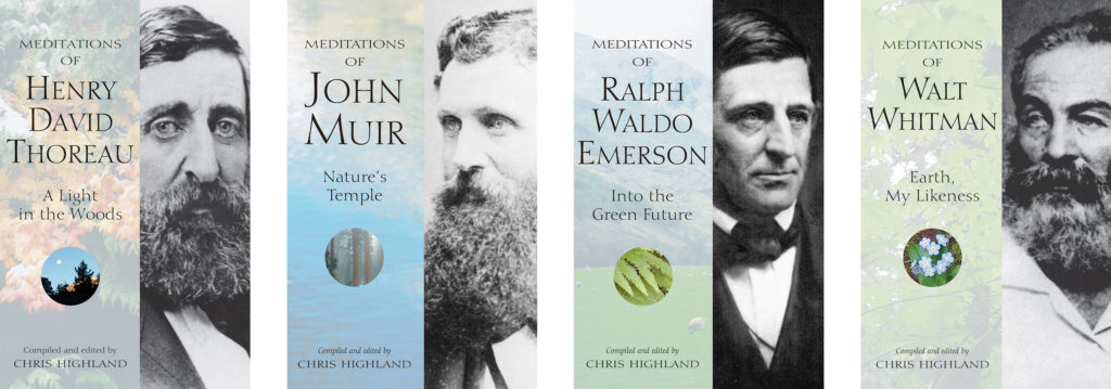 Meditation book series covers