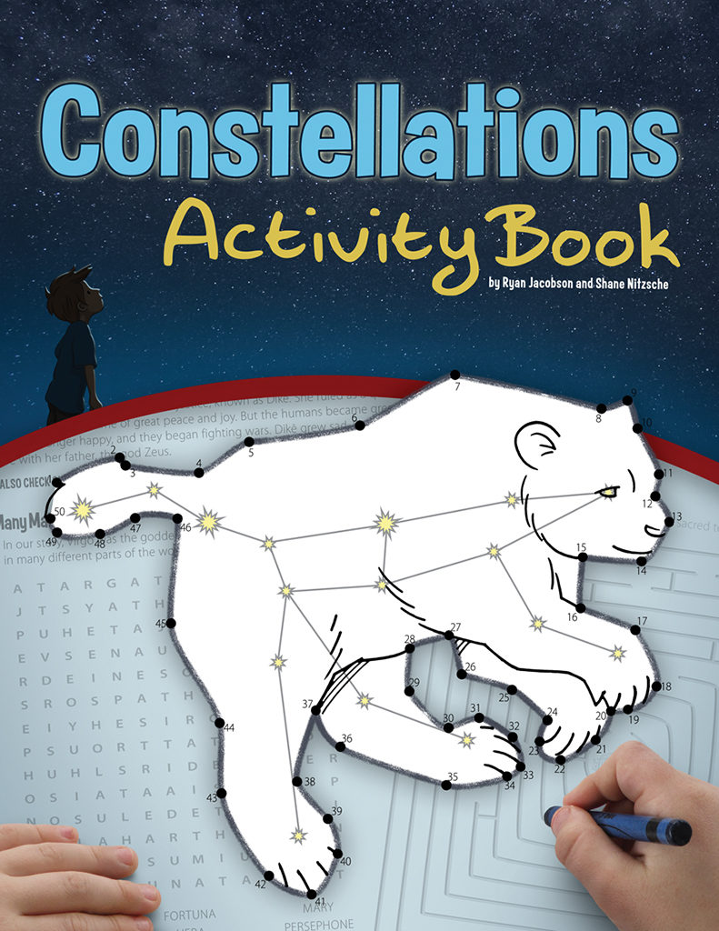 Constellations Activity Book cover