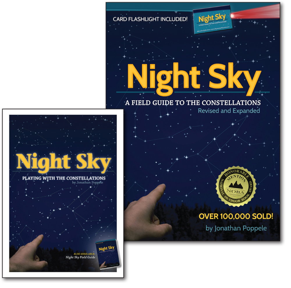 Night Sky Field Guide and Night Sky Playing Cards