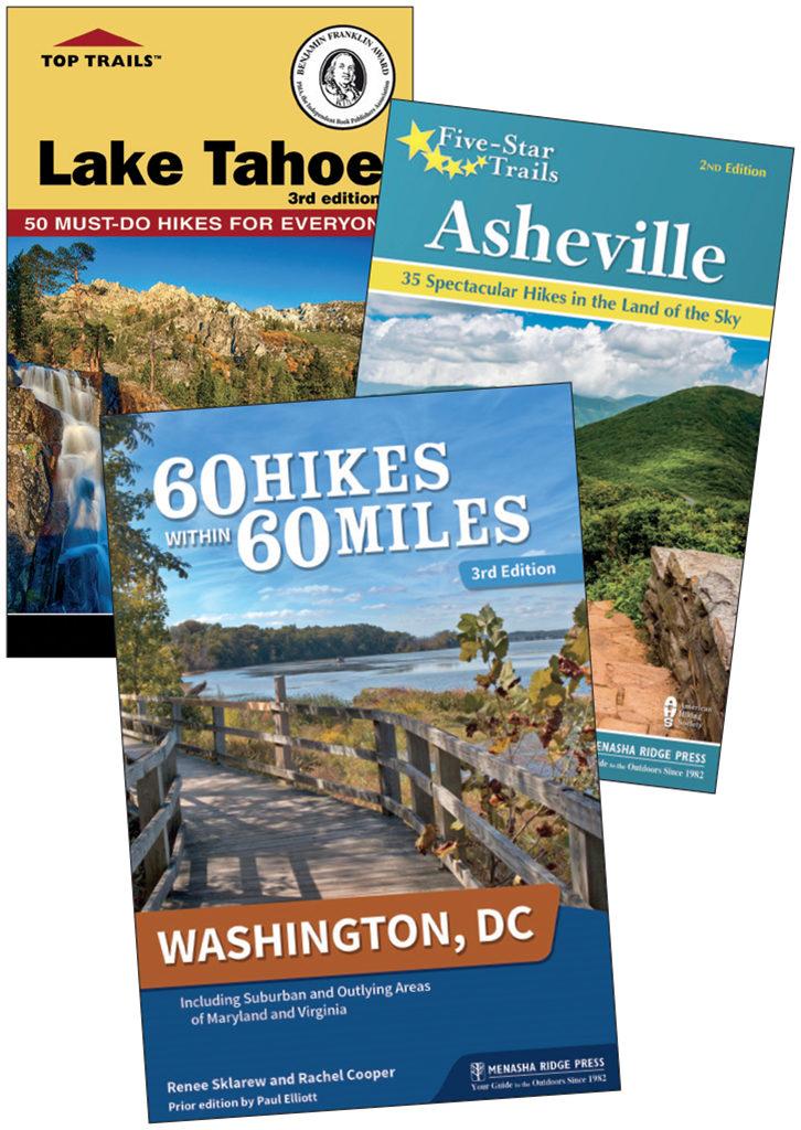 Hiking books from AdventureKEEN