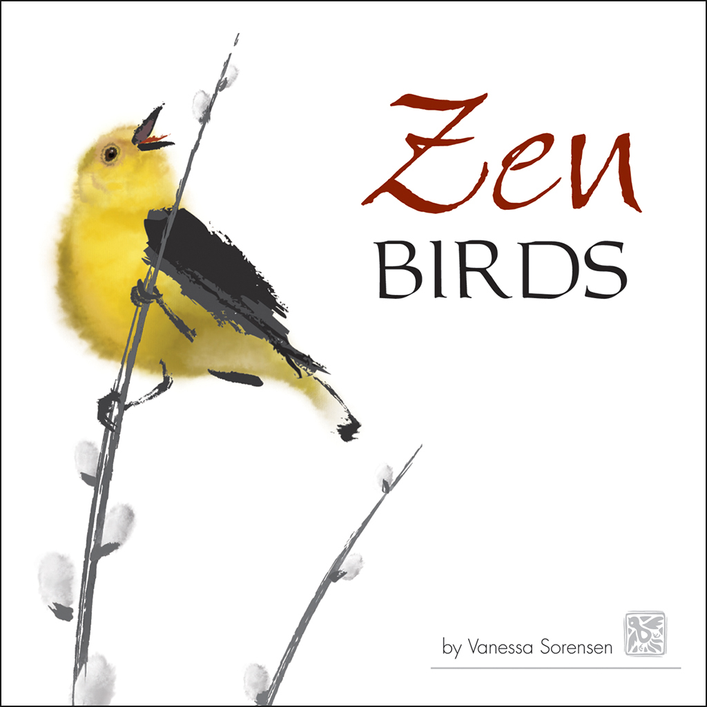 Zen Birds book cover