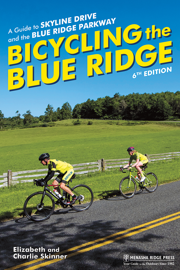 Bicycling the Blue Ridge front cover